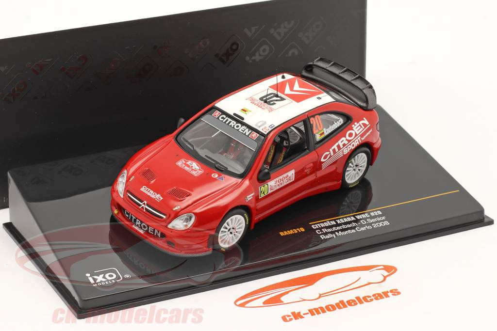 Citroen Xsara WRC #20 Rally di Monte Carlo 2008 1:43 Ixo