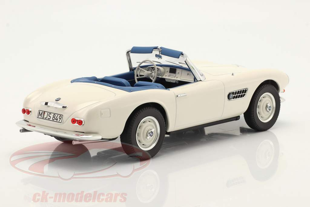 BMW 507 Convertible year 1956-1959 white 1:18 Norev
