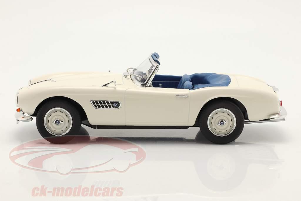 BMW 507 Cabrio bouwjaar 1956-1959 wit 1:18 Norev