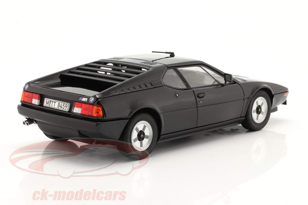 BMW M1 year 1980 black 1:18 Norev