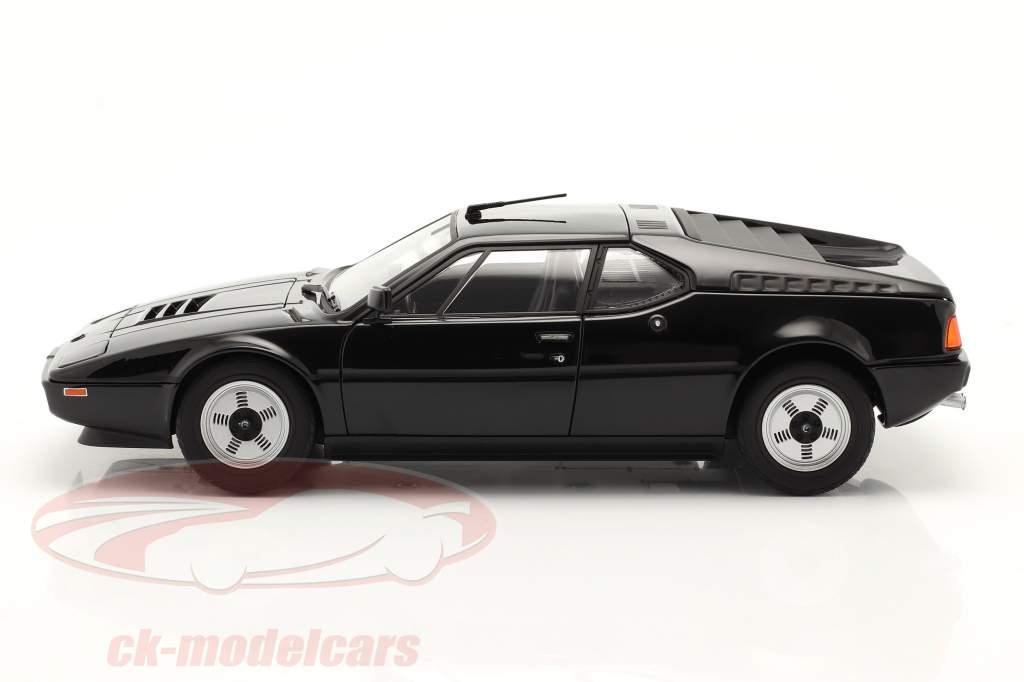 BMW M1 bouwjaar 1980 zwart 1:18 Norev