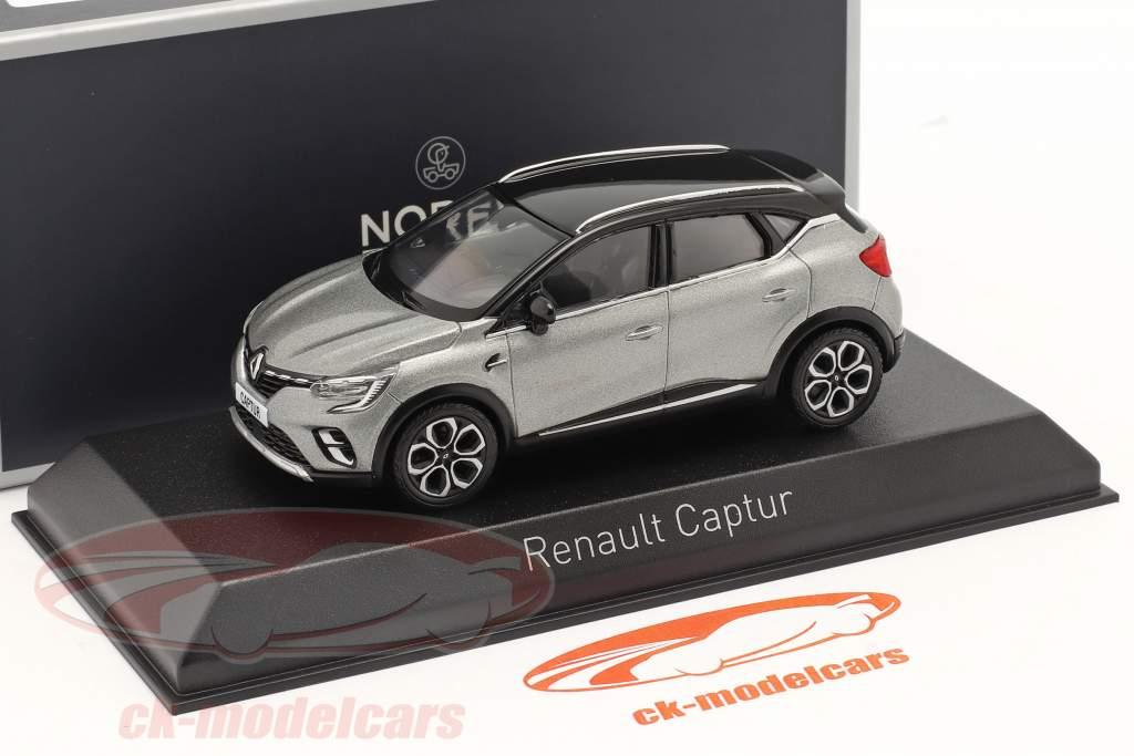 Renault Captur Byggeår 2020 cassiopee Grå 1:43 Norev