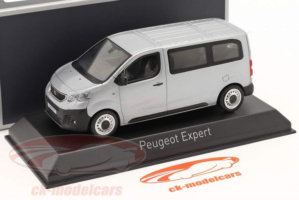 Peugeot Expert Année de construction 2016 aluminium argent 1:43 Norev