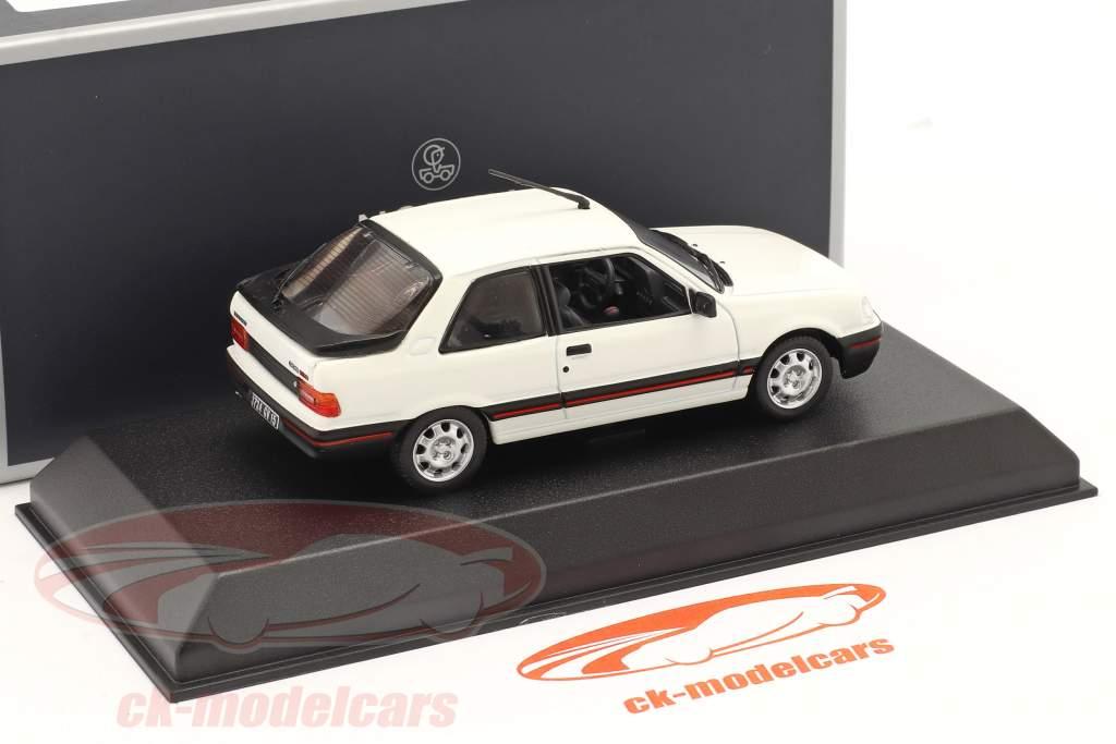 Peugeot 309 GTI Année de construction 1987 meije blanche 1:43 Norev