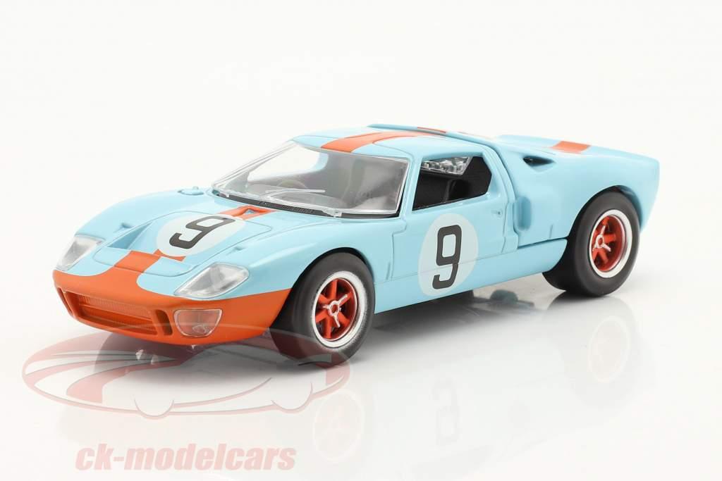 Ford GT40 #9 vinder 24h LeMans 1968 Jet Car 1:43 Norev