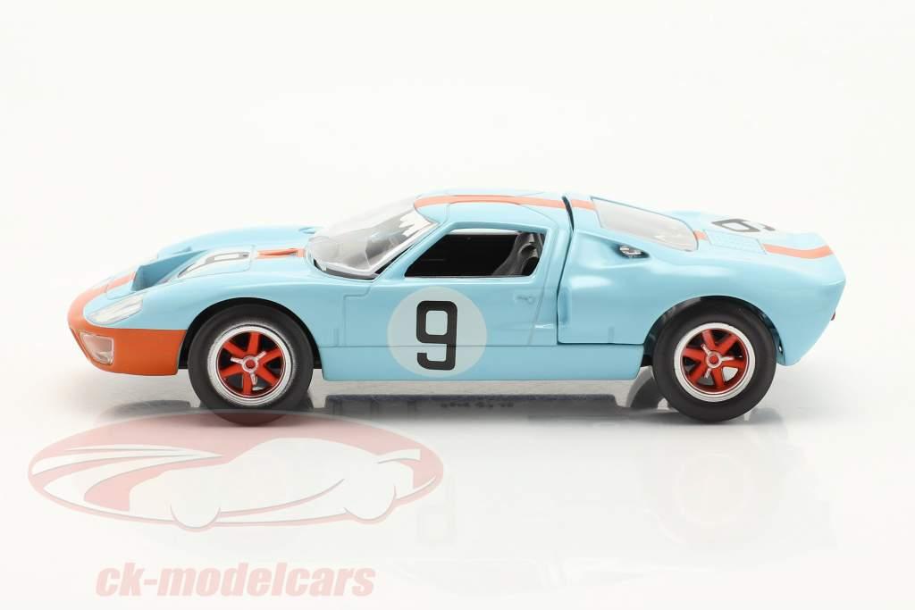 Ford GT40 #9 gagnant 24h LeMans 1968 Jet Car 1:43 Norev