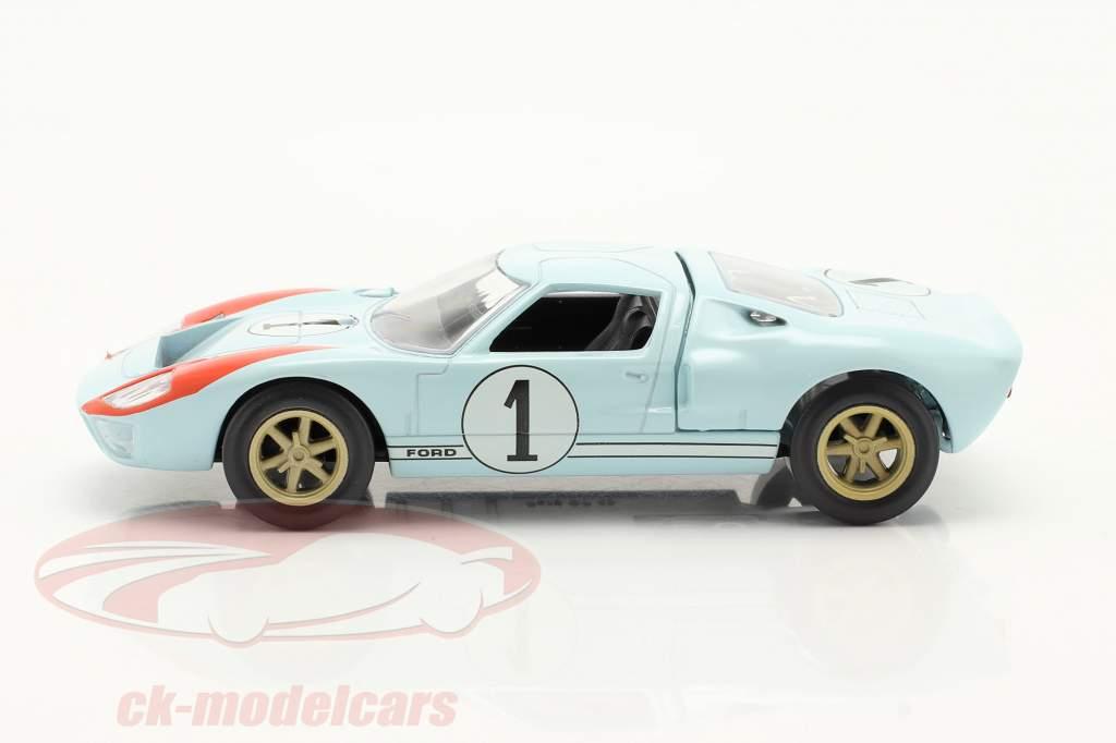 Ford GT40 #1 2ª 24h LeMans 1966 Jet Car 1:43 Norev