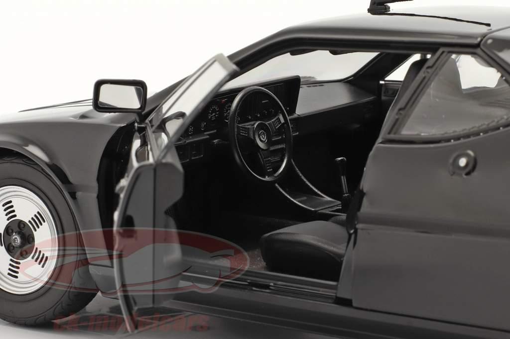 BMW M1 Byggeår 1980 sort 1:18 Norev