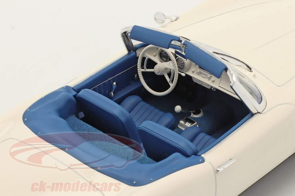 BMW 507 Cabriolet Byggeår 1956-1959 hvid 1:18 Norev
