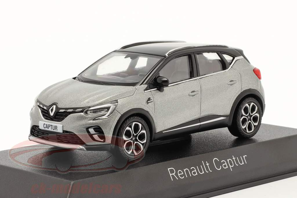 Renault Captur Ano de construção 2020 cassiopee cinza 1:43 Norev