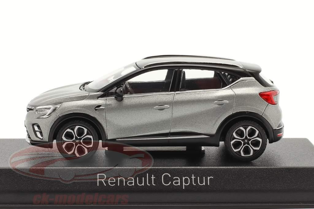 Renault Captur year 2020 cassiopee grey 1:43 Norev