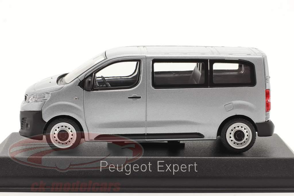 Peugeot Expert Byggeår 2016 aluminium sølv 1:43 Norev