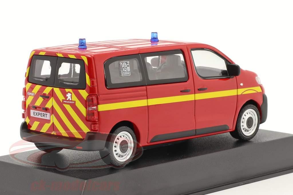 Peugeot Expert vigili del fuoco Anno di costruzione 2016 rosso 1:43 Norev