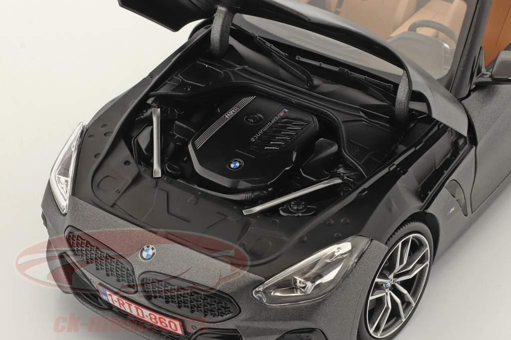 BMW Z4 (G29) Roadster bouwjaar 2019 mat grijs metalen 1:18 Norev