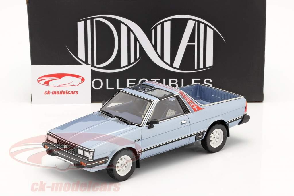 Subaru BRAT generazione 2 Anno di costruzione 1986 Azzurro metallico 1:18 DNA Collectibles