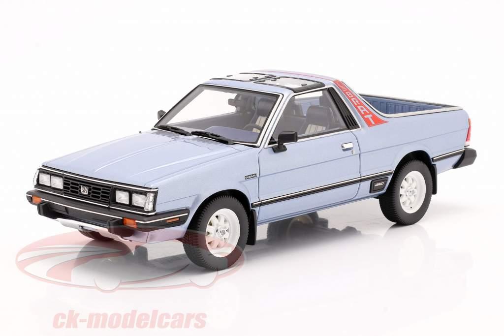 Subaru BRAT génération 2 Année de construction 1986 Bleu clair métallique 1:18 DNA Collectibles
