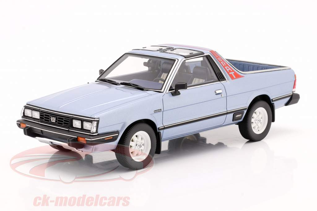 Subaru BRAT Generation 2 Baujahr 1986 hellblau metallic 1:18 DNA Collectibles