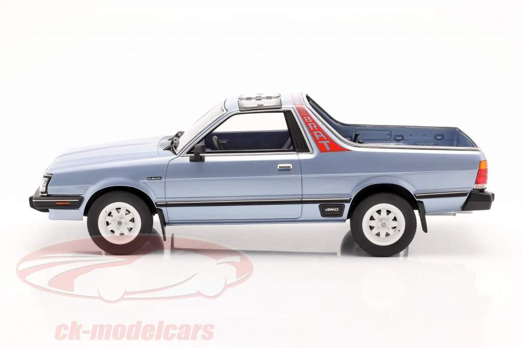 Subaru BRAT generation 2 year 1986 light blue metallic 1:18 DNA Collectibles