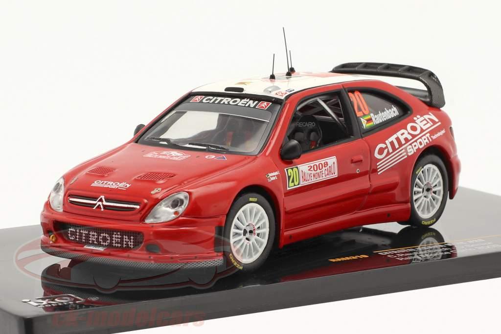Citroen Xsara WRC #20 Rallye Monte-Carlo 2008 1:43 Ixo