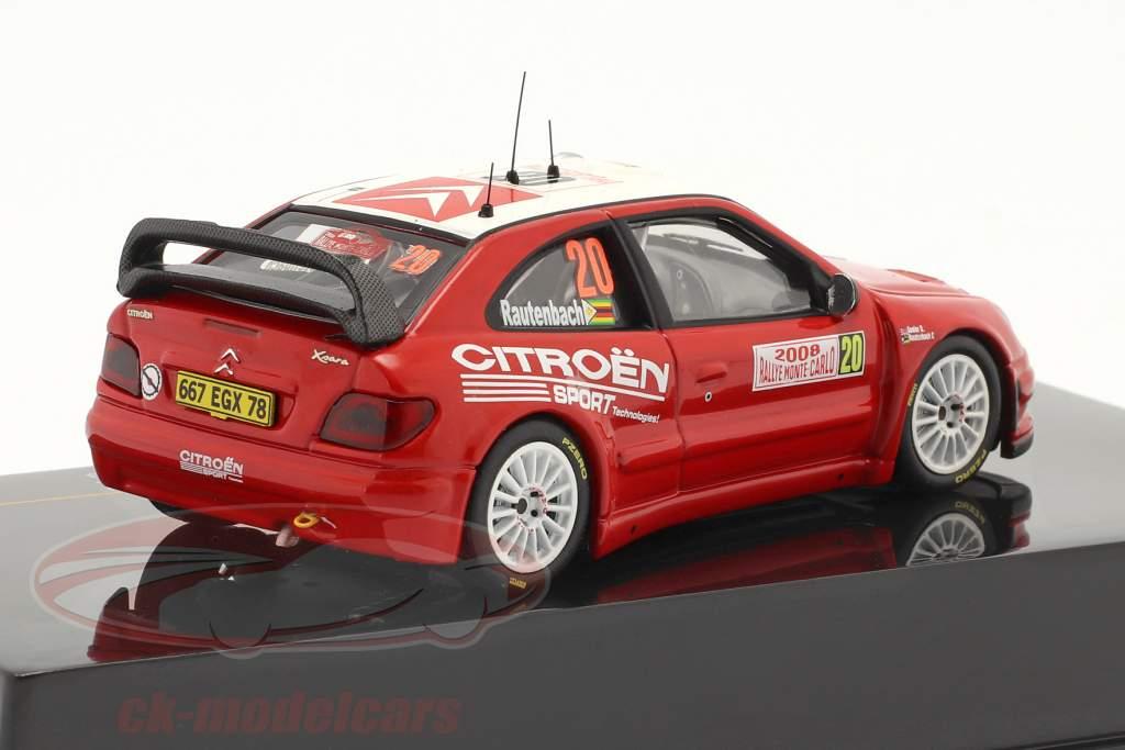 Citroen Xsara WRC n º 20 Rally Monte Carlo 2008 1:43 Ixo