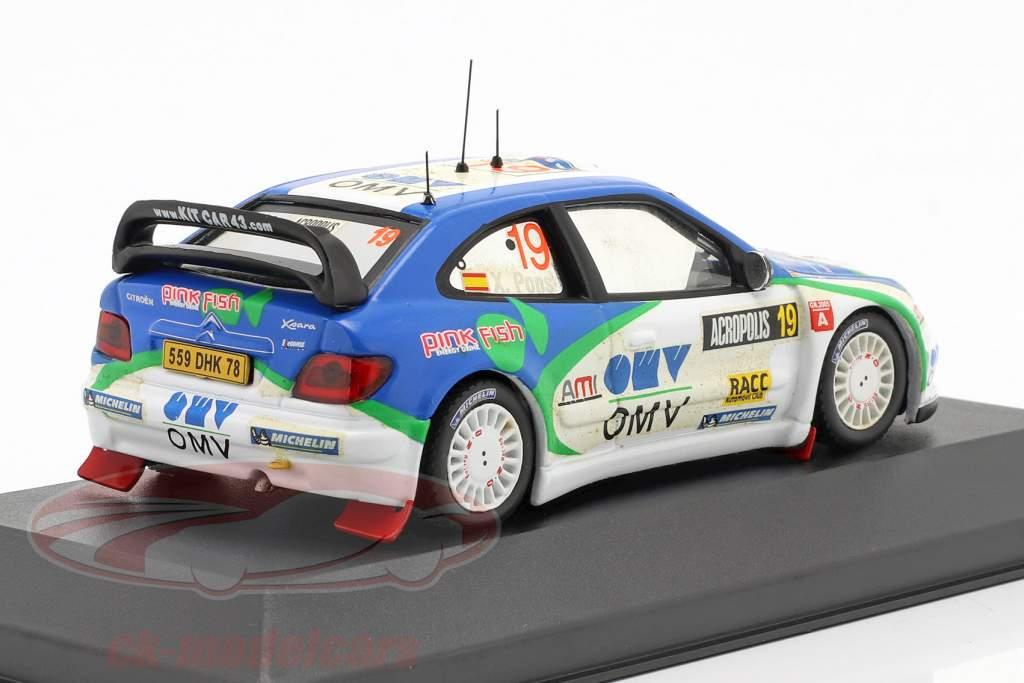 Citroen Xsara WRC n º 19 Rali da Acrópole 2005 1:43 Ixo