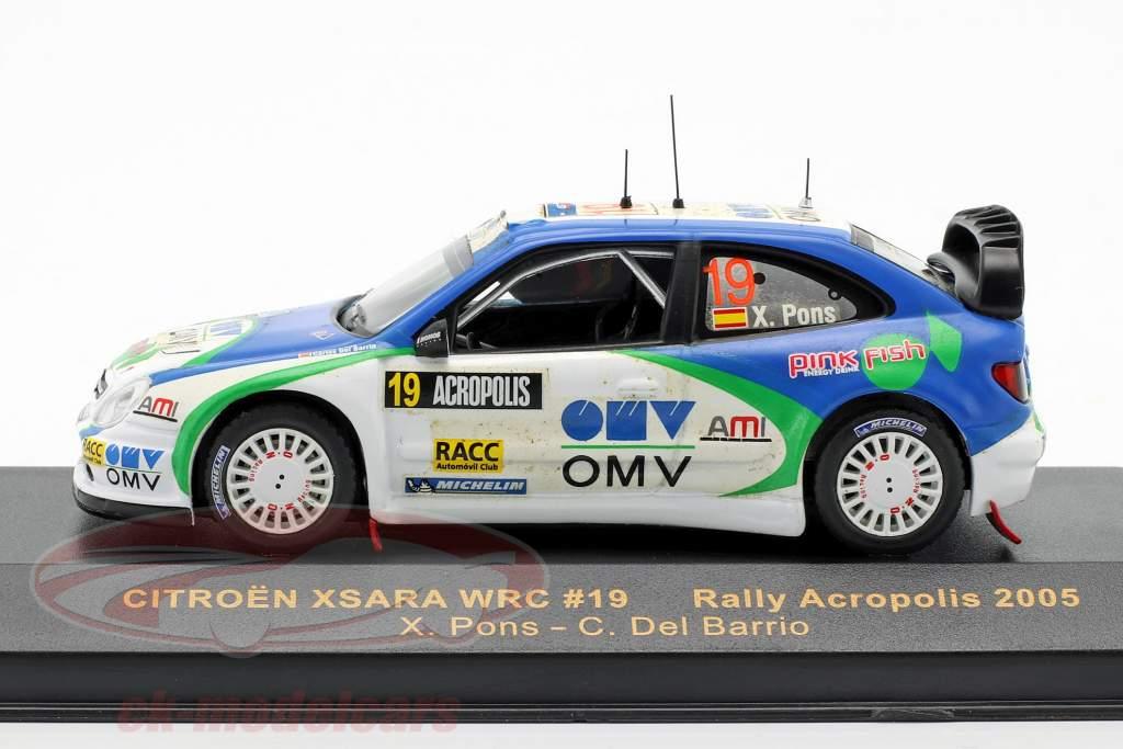 Citroen Xsara WRC 19 ° Rallye Acropolis 2005 1:43 Ixo