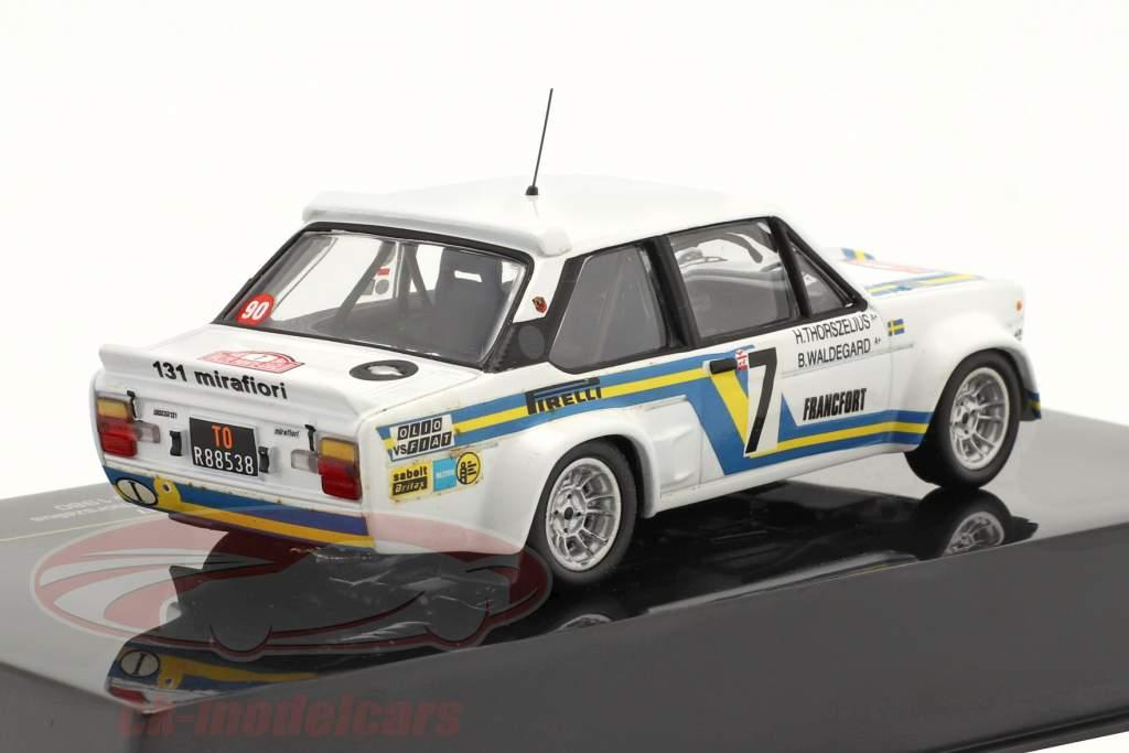 Fiat Abarth 131 #7 Rallye Monte-Carlo 1980 1:43 Ixo