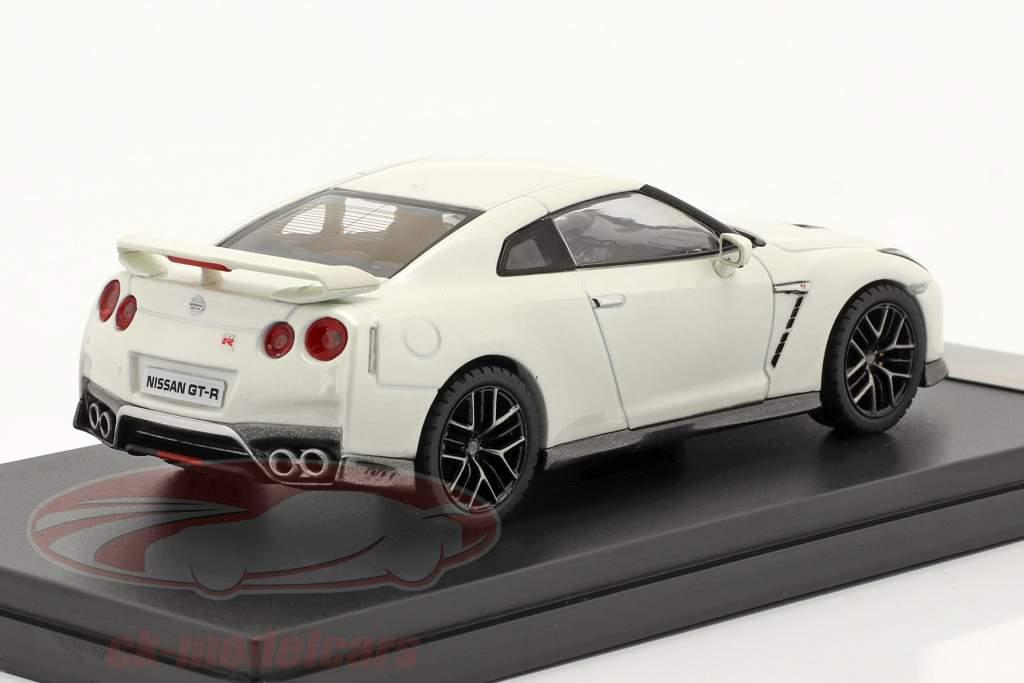 Nissan GT-R jaar 2017 wit 1:43 Premium X