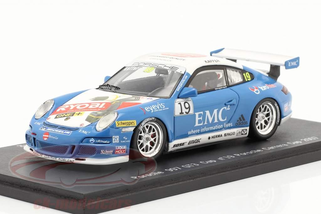 Porsche 911 (997) GT3 Cup #19 Porsche Carrera Cup 2007 Kaffer 1:43 Spark