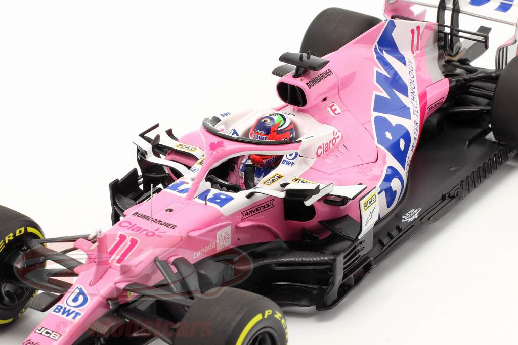 S. Perez Racing Point RP20 #11 6th Österreich GP Formel 1 2020 1:18 Minichamps
