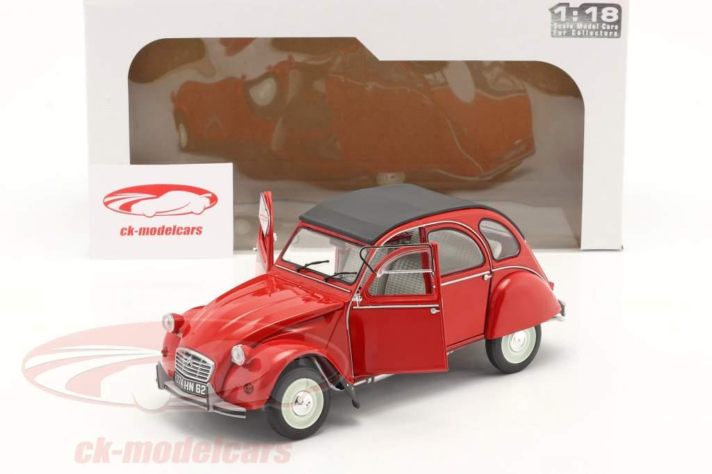 Citroen 2CV6 Baujahr 1982 rot 1:18 Solido