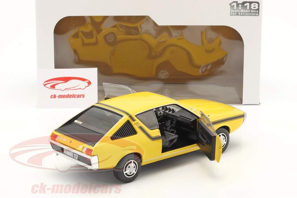 Renault 17 (R17) MK1 Année de construction 1976 jaune 1:18 Solido