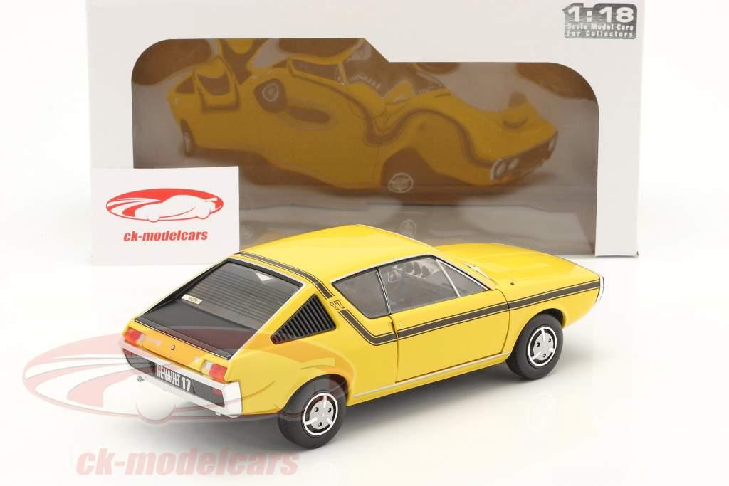 Renault 17 (R17) MK1 Ano de construção 1976 amarelo 1:18 Solido