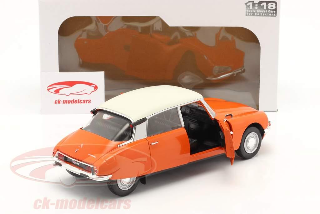 Citroen D Special Año de construcción 1972 naranja 1:18 Solido