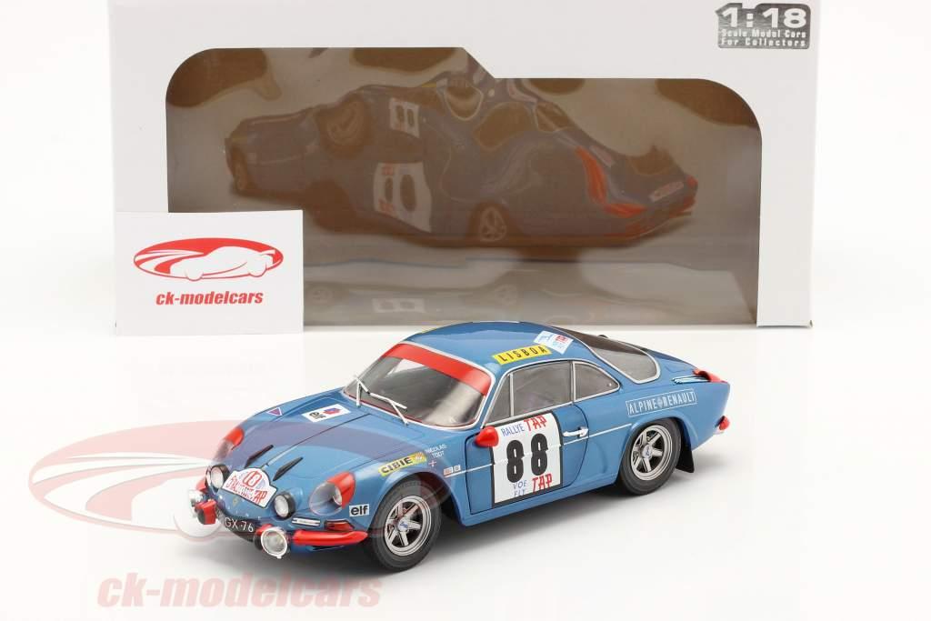Alpine A110 1600S #88 Sieger Rallye Portugal 1971 Nicolas, Todt 1:18 Solido