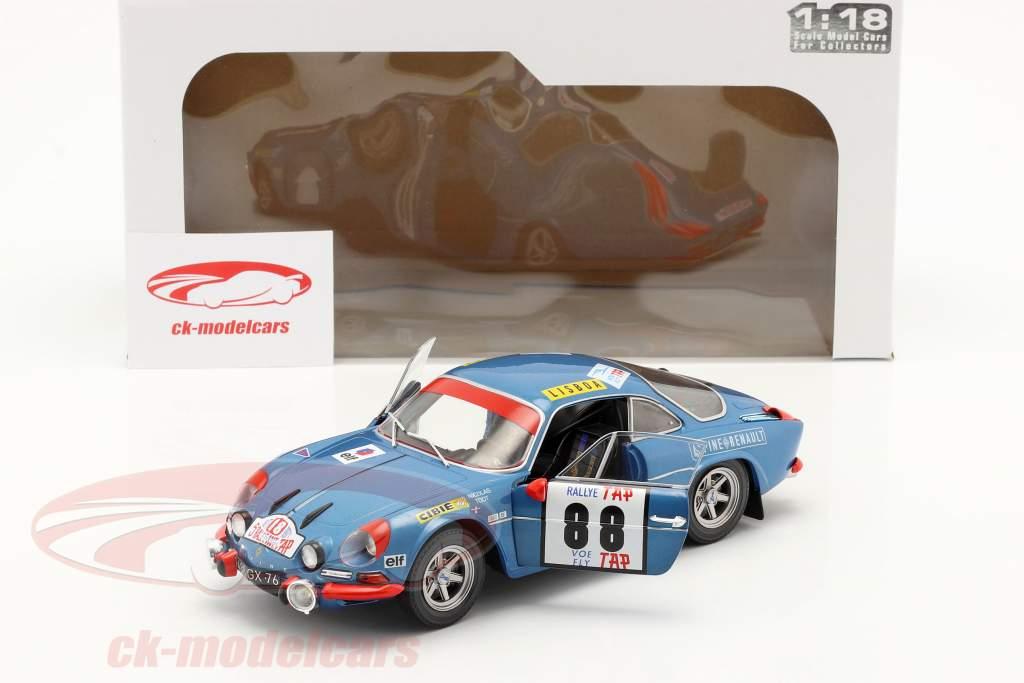 Alpine A110 1600S #88 vinder Rallye Portugal 1971 Nicolas, Todt 1:18 Solido