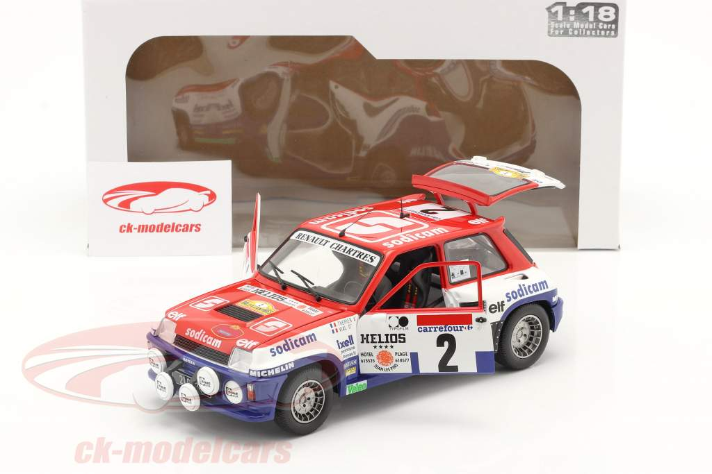 Renault 5 Turbo #2 vincitore Rallye D'Antibes 1983 Therier, Vial 1:18 Solido