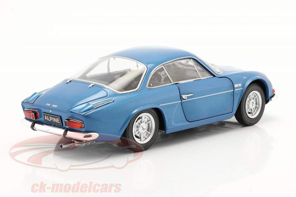 Alpine A110 1600S bouwjaar 1969 alpine blauw 1:18 Solido