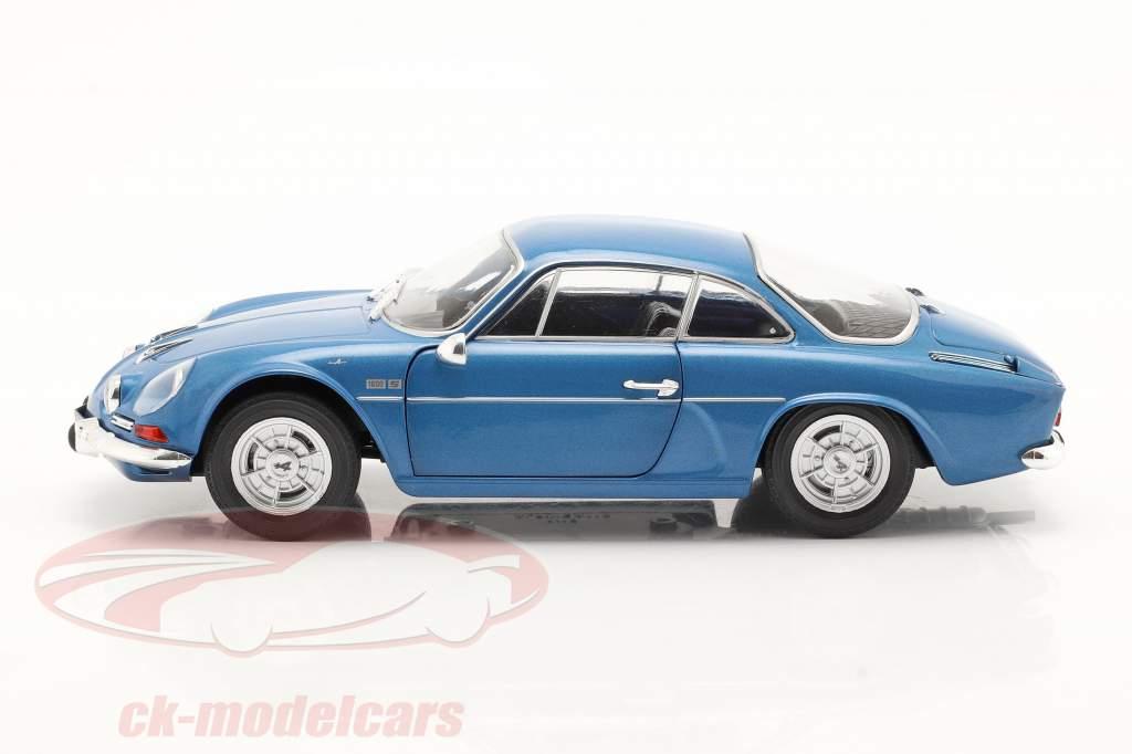 Alpine A110 1600S Byggeår 1969 alpine blå 1:18 Solido