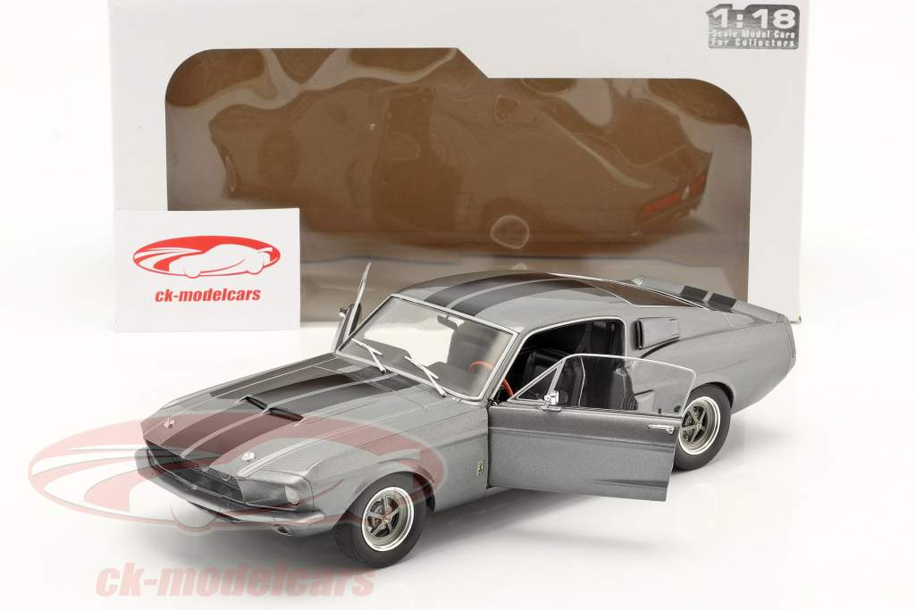 Ford Shelby Mustang GT500 year 1969 grey 1:18 Solido