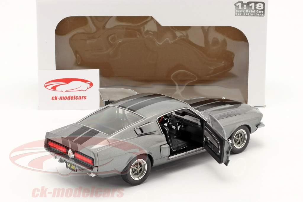 Ford Shelby Mustang GT500 Ano de construção 1969 cinza 1:18 Solido