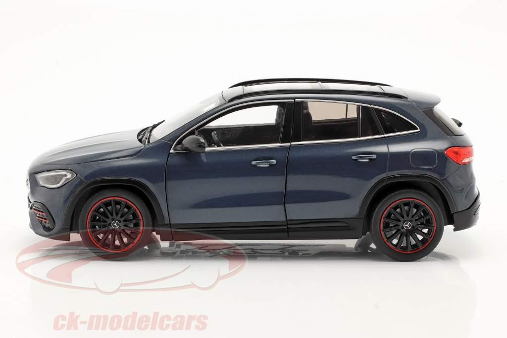 Mercedes-Benz GLA (H247) Anno di costruzione 2020 denim blu metallico 1:18 Solido