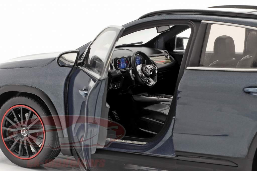 Mercedes-Benz GLA (H247) Ano de construção 2020 jeans azul metálico 1:18 Solido