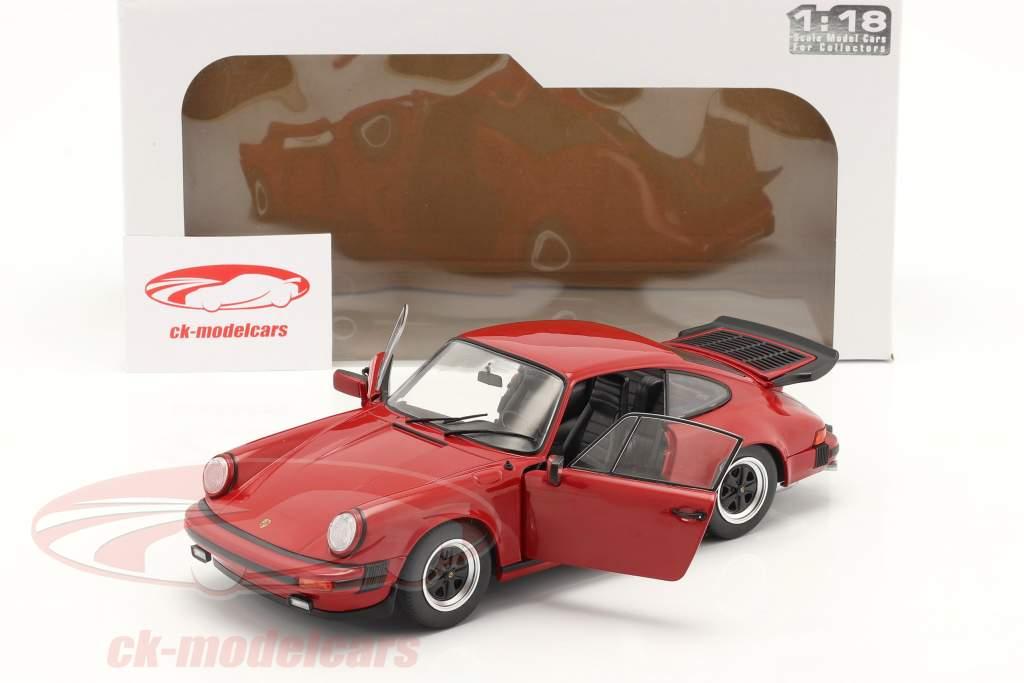 Porsche 911 (930) Carrera 3.2 Anno di costruzione 1984 rosso 1:18 Solido