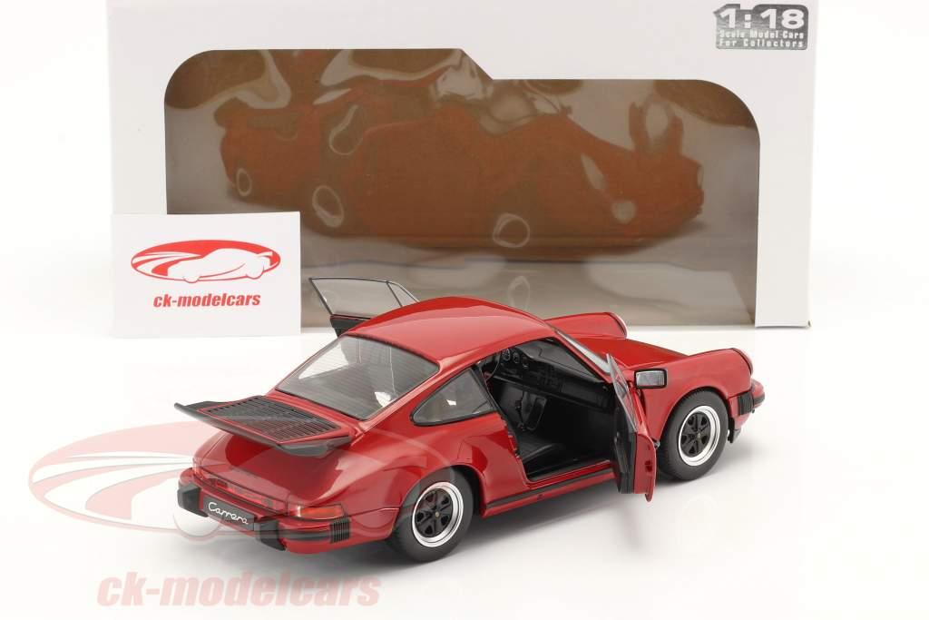 Porsche 911 (930) Carrera 3.2 建设年份 1984 红色的 1:18 Solido