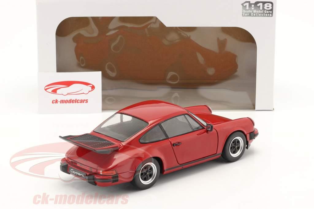 Porsche 911 (930) Carrera 3.2 year 1984 Red 1:18 Solido