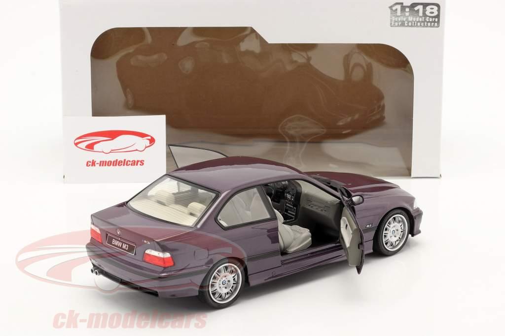 BMW M3 (E36) Coupe Anno di costruzione 1994 Daytona Viola 1:18 Solido