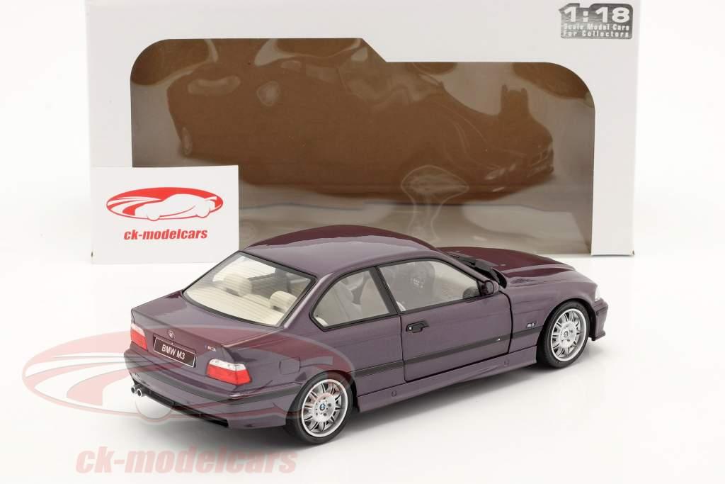 BMW M3 (E36) Coupe Año de construcción 1994 Daytona Violeta 1:18 Solido