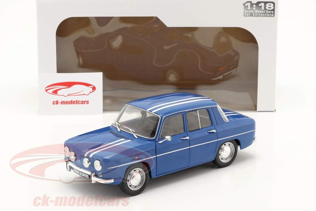 Renault 8 Gordini 1300 year 1967 blue 1:18 Solido
