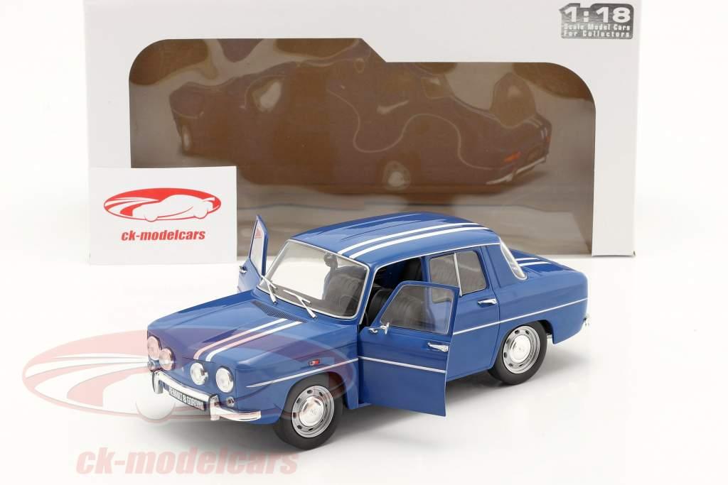 Renault 8 Gordini 1300 Ano de construção 1967 azul 1:18 Solido